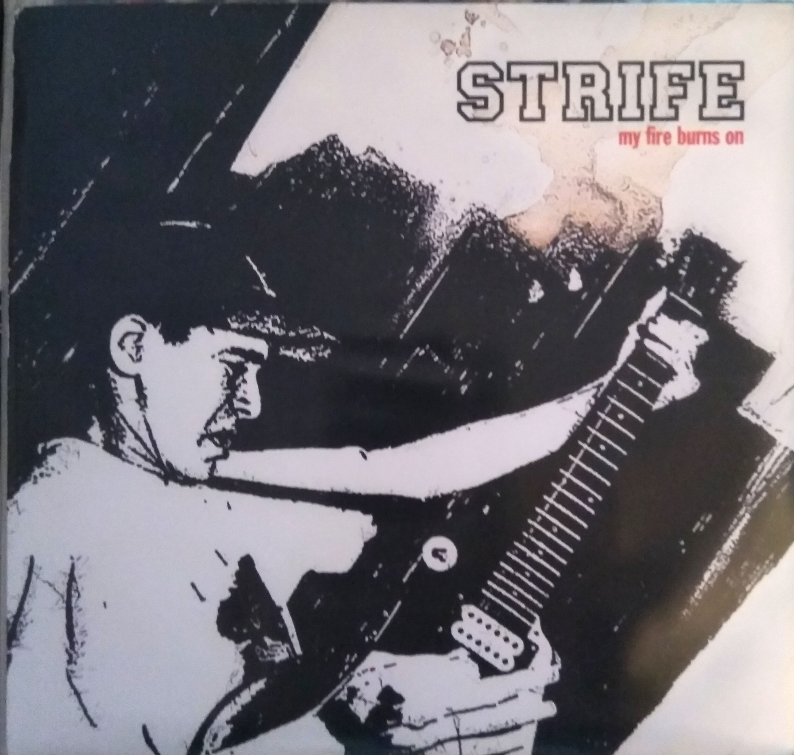"STRIFE ""My fire burns on"" EP EU tour 2011 edition"