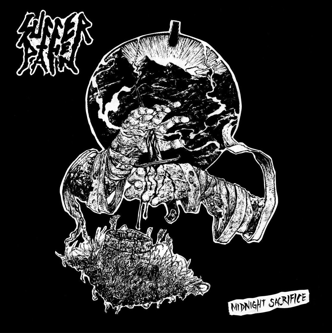 "SUFFER THE PAIN ""Midnight sacrifice"" LP"