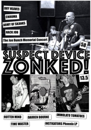 """SUSPECT DEVICE"" #58/""ZONKED!"" #13.5"
