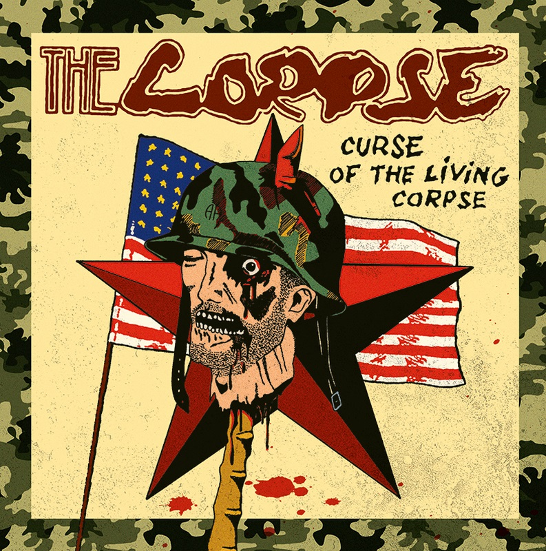"THE CORPSE ""Curse Of The Living Corpse\"" LP"