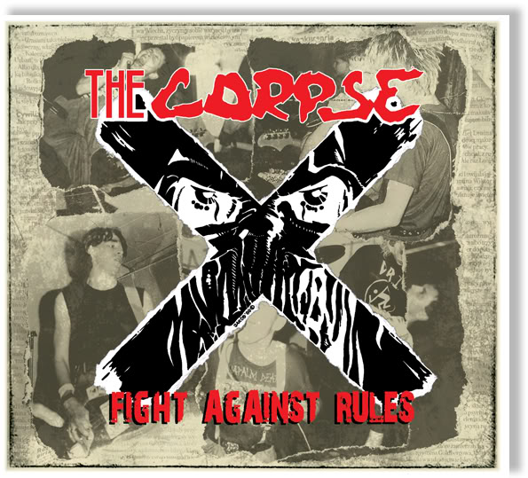 "THE CORPSE ""Fight against rules"" CD"