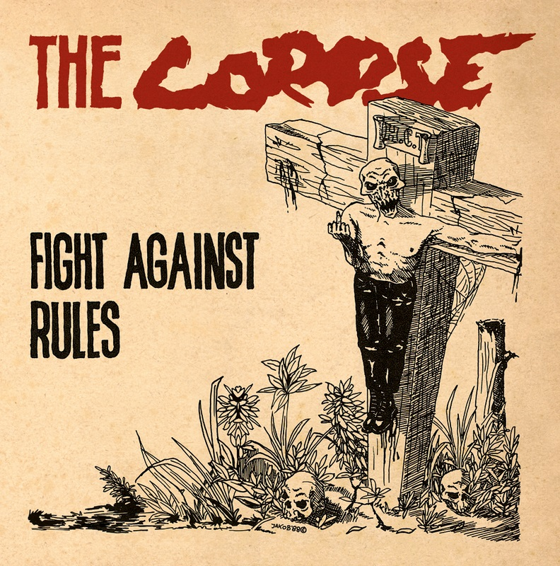 "THE CORPSE ""Fight against rules"" LP  (yellow)"