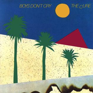 "THE CURE ""Boys don´t cry"" LP"