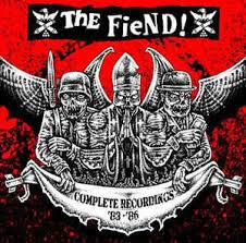 "THE FIEND! ""Complete recordings '83-'87"" CD"