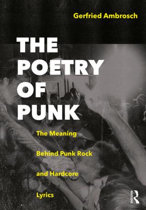 """THE POETRY OF PUNK\"" G.Ambrosch"
