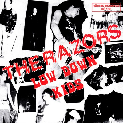 "THE RAZORS ""Low down kids"" EP"