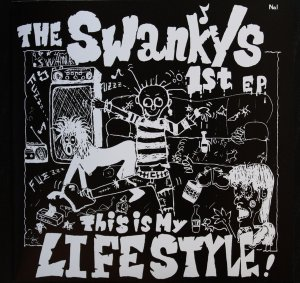 "THE SWANKYS ""This is my lifestyle!"" EP  (green)"
