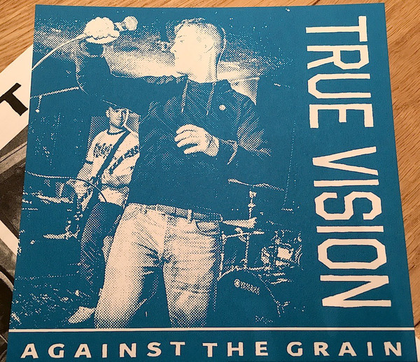 "TRUE VISION ""Against the grain"" EP  (blue)"