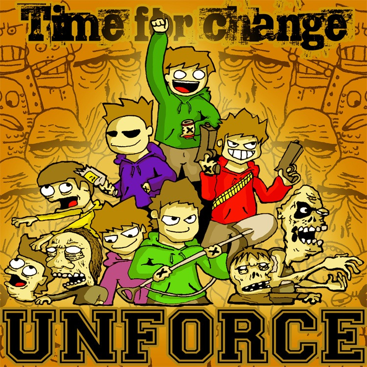 "UNFORCE ""Time for change"" mcd"