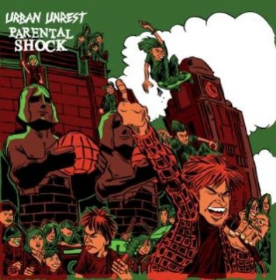 URBAN UNREST/PARENTAL SHOCK  split  LP