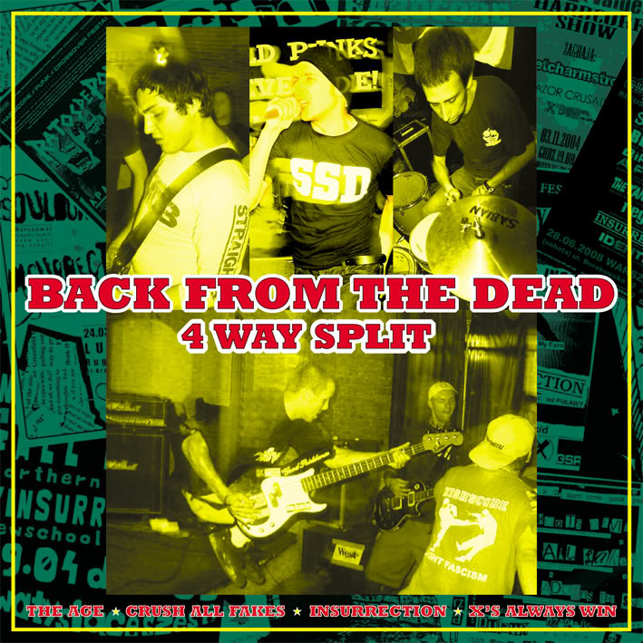 "V/A ""Back From The Dead\"" CD"