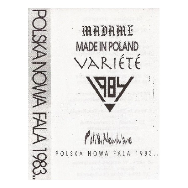 "V/A ""Polska Nowa Fala 1983... Polish New Wave"" CS"