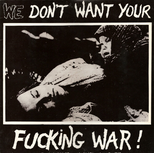 "V/A ""We don't want your fucking war!"" LP"