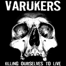 VARUKERS/SICK ON THE BUS split LP