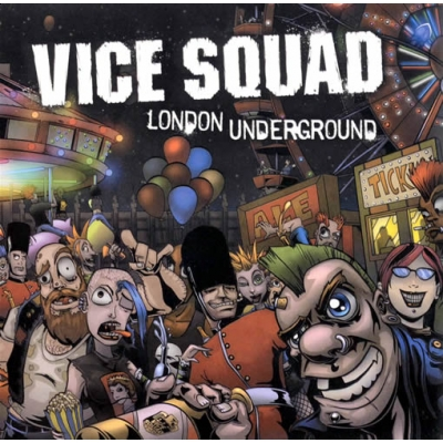 "VICE SQUAD ""London underground\"" LP"