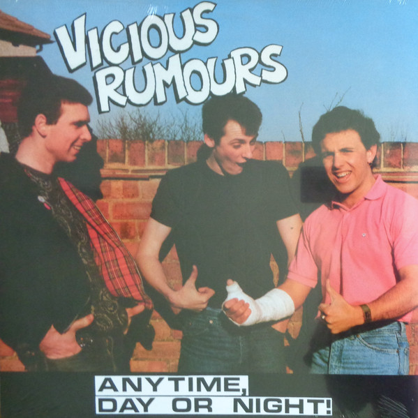 "VICIOUS RUMOURS ""Any time day or night!"" LP"