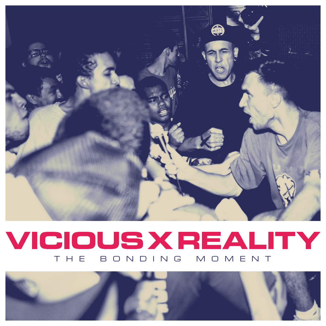 "VICIOUSxREALITY ""The Bonding Moment"" 7""EP  black PRE-ORDER"