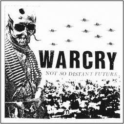 "WARCRY ""Not so distant future"" LP"