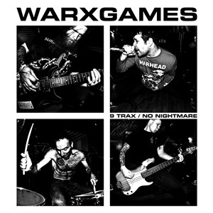 "WARxGAMES ""9 trax / No nightmare"" EP   (clear)"