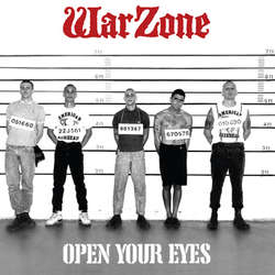 "WARZONE ""Open your eyes"" LP  (grey)"