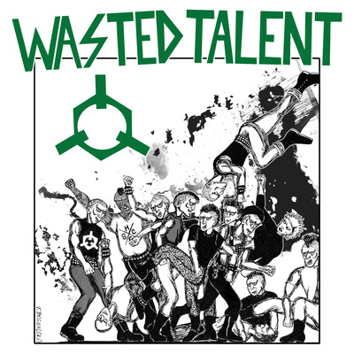 "WASTED TALENT ""Ready to riot"" LP"