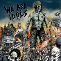 "WE ARE IDOLS ""We Are Idols"" LP  (red)"