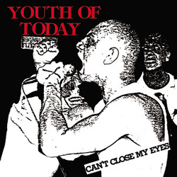 "YOUTH OF TODAY ""Can't close my eyes"" LP"
